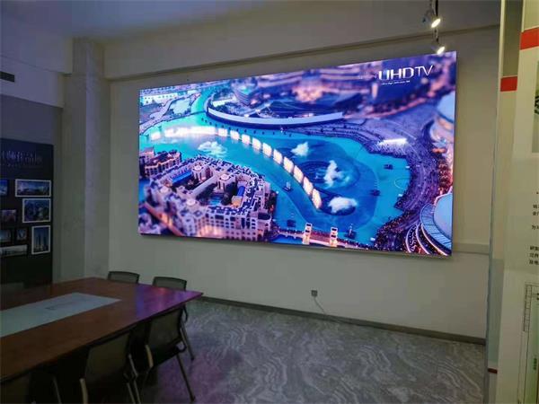 济南邮编_山东诸城市某自动化有限公司P1.6全彩LED显示项目_济南雷龙智能 ...